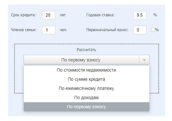 Ипотечный калькулятор онлайн. Как рассчитать Ипотеку?